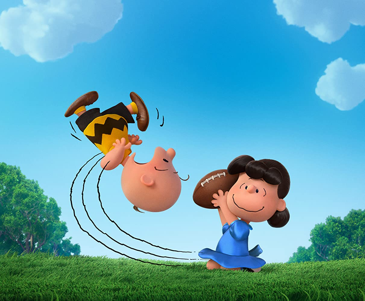 Hadley Belle Miller and Noah Schnapp in The Peanuts Movie 2015