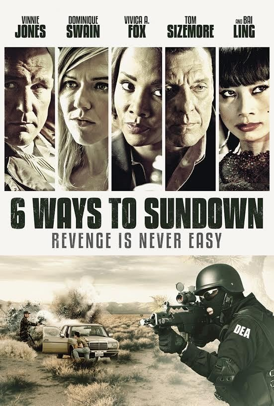 Vivica A. Fox, Bai Ling, Dominique Swain, Tom Sizemore, Vinnie Jones, and Michael Rene Walton in 6 Ways to Die (2015)