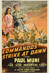 Anna Lee and Paul Muni in Commandos Strike at Dawn (1942)