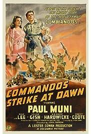 ##SITE## DOWNLOAD Commandos Strike at Dawn (1942) ONLINE PUTLOCKER FREE