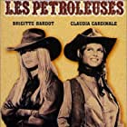 Brigitte Bardot and Claudia Cardinale in Les pétroleuses (1971)