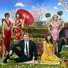 Swoosie Kurtz, Kristin Chenoweth, Anna Friel, Ellen Greene, Chi McBride, Lee Pace, and Justin Stephens in Pushing Daisies (2007)