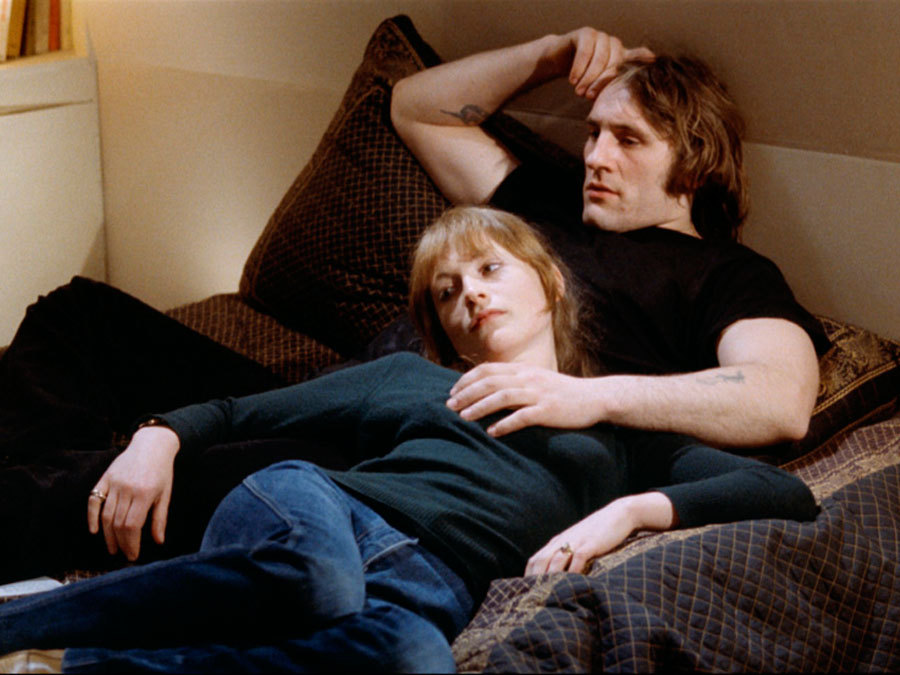 Gérard Depardieu and Isabelle Huppert in Loulou (1980)
