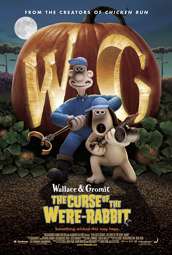 Wallace & Gromit: The Curse of the Were-Rabbit (2005) Dual Audio Hindi 300MB BluRay 480p ESubs