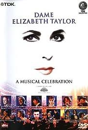 Elizabeth Taylor: A Musical Celebration Poster