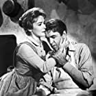 James Stewart and Vera Miles in The Man Who Shot Liberty Valance (1962)