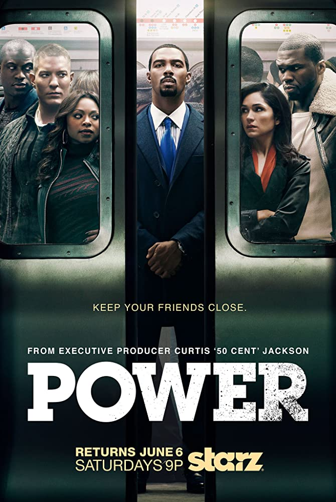 Joseph Sikora, Omari Hardwick, Naturi Naughton, 50 Cent, Lela Loren, and Sinqua Walls in Power (2014)
