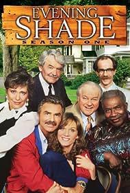 Marilu Henner, Burt Reynolds, Ossie Davis, Charles Durning, Hal Holbrook, Michael Jeter, Elizabeth Ashley, and Ann Wedgeworth in Evening Shade (1990)