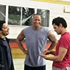 Kevin Bray, Johnny Knoxville, and Dwayne Johnson in Walking Tall (2004)