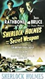 Sherlock Holmes and the Secret Weapon (1942) Poster