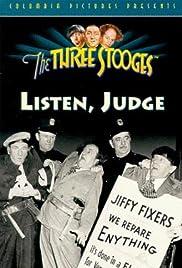 Listen, Judge(1952) Poster - Movie Forum, Cast, Reviews