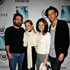 Amy Brenneman, Jason Patric, Maria Bello, and Johan Renck at an event for Downloading Nancy (2008)