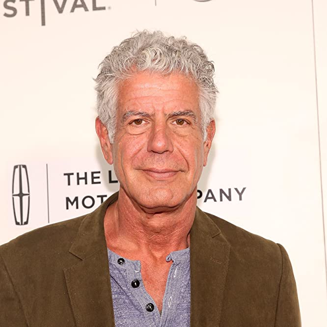 Anthony Bourdain at an event for Jeremiah Tower: The Last Magnificent (2016)