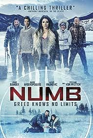 Aleks Paunovic, Jamie Bamber, Colin Cunningham, Stefanie von Pfetten, and Marie Avgeropoulos in Numb (2015)