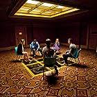 Matthew Beard, Aaron Taylor-Johnson, Imogen Poots, Daniel Kaluuya, and Hannah Murray in Chatroom (2010)