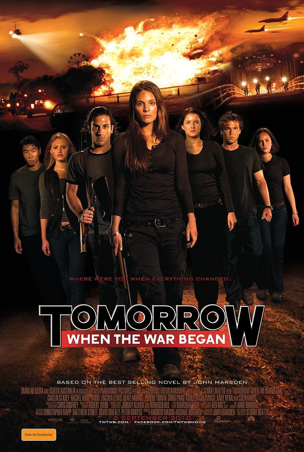 Tomorrow When the War Began 2010 Hindi Dual Audio 720p | 480p BRip x264 Esub