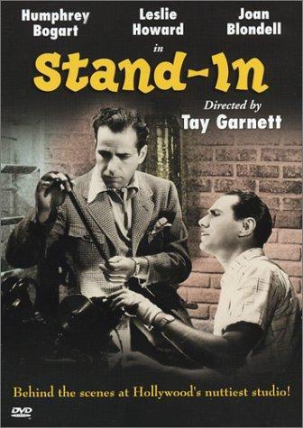 Humphrey Bogart and Tay Garnett in Stand-In (1937)