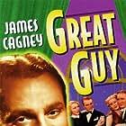 James Cagney, Mae Clarke, Bernadene Hayes, and Joe Sawyer in Great Guy (1936)