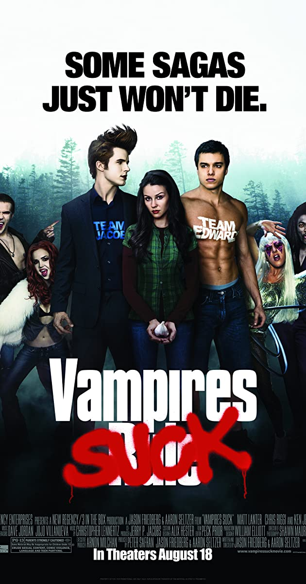 Subtitle of Vampires Suck
