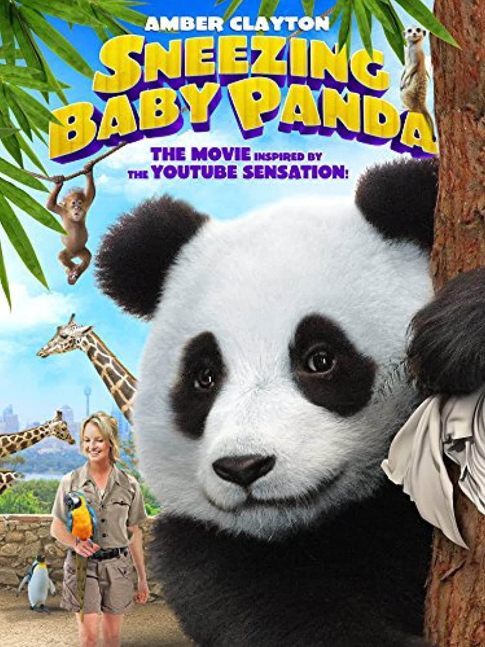 Sneezing Baby Panda 2015 Hindi Dual Audio 302MB BluRay ESubs Download