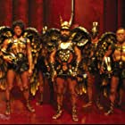 Brian Blessed, Ted Carroll, and John Hallam in Flash Gordon (1980)