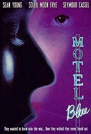 Motel Blue Poster
