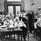 Gene Kelly, Spencer Tracy, Donna Anderson, Philip Coolidge, Florence Eldridge, Fredric March, Elliott Reid, and Dick York in Inherit the Wind (1960)