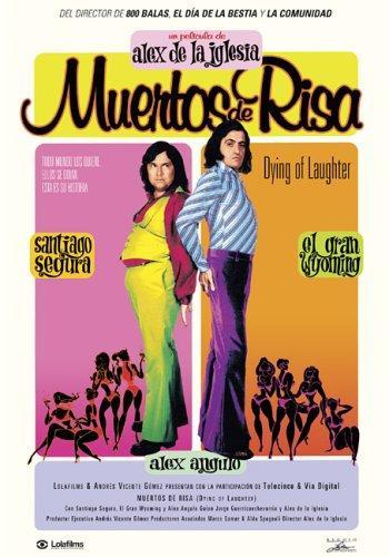 El Gran Wyoming and Santiago Segura in Muertos de risa (1999)