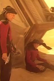 Wil Wheaton and Patrick Stewart in Star Trek: The Next Generation (1987)