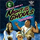 Edward D. Wood Jr., Kenne Duncan, Valda Hansen, and Tor Johnson in Night of the Ghouls (1959)