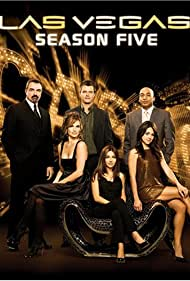 Vanessa Marcil, Tom Selleck, Josh Duhamel, Camille Guaty, James Lesure, and Molly Sims in Las Vegas (2003)