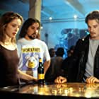 Ethan Hawke, Julie Delpy, and Richard Linklater in Before Sunrise (1995)