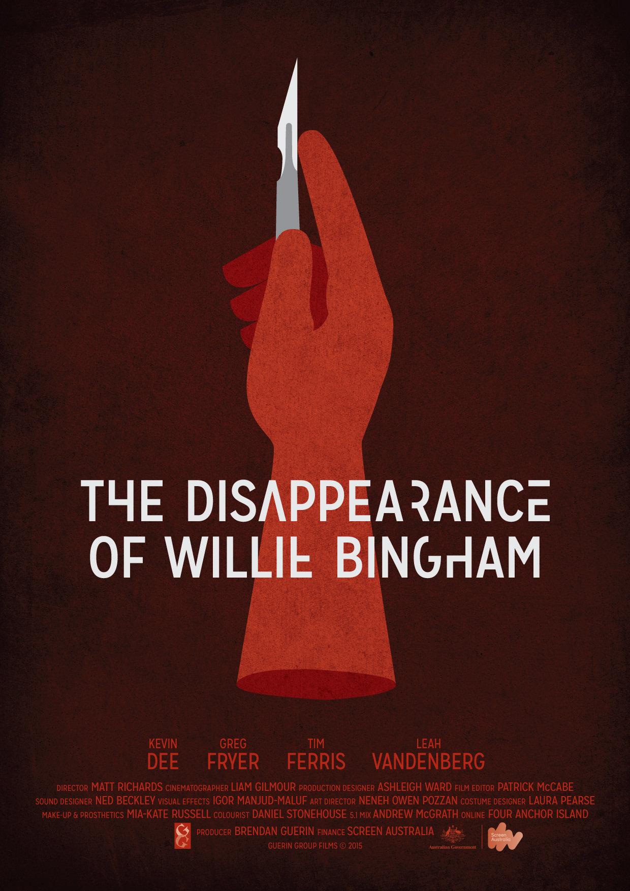 Resultado de imagem para The Disappearance of Willie Bingham