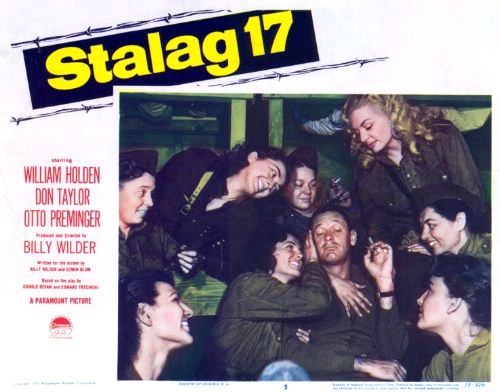 Janice Carroll, Alla Gursky, Marie Ardell, Zina Dennis, and Irene Bacha in Stalag 17 (1953)