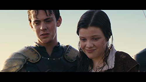 Lucy and Edmund Pevensie return to Narnia with their cousin Eustace where they meet up with Prince Caspian for a trip across the sea aboard the royal ship The Dawn Treader. Along the way they encounter dragons, dwarves, merfolk, and a band of lost warriors before reaching the edge of the world.