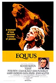 Richard Burton and Peter Firth in Equus (1977)