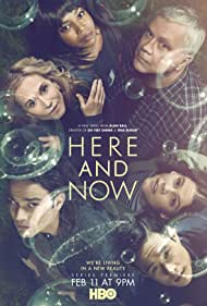 Tim Robbins, Holly Hunter, Sosie Bacon, Jerrika Hinton, Raymond Lee, and Daniel Zovatto in Here and Now (2018)