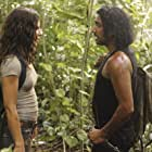 Naveen Andrews and Evangeline Lilly in Lost (2004)