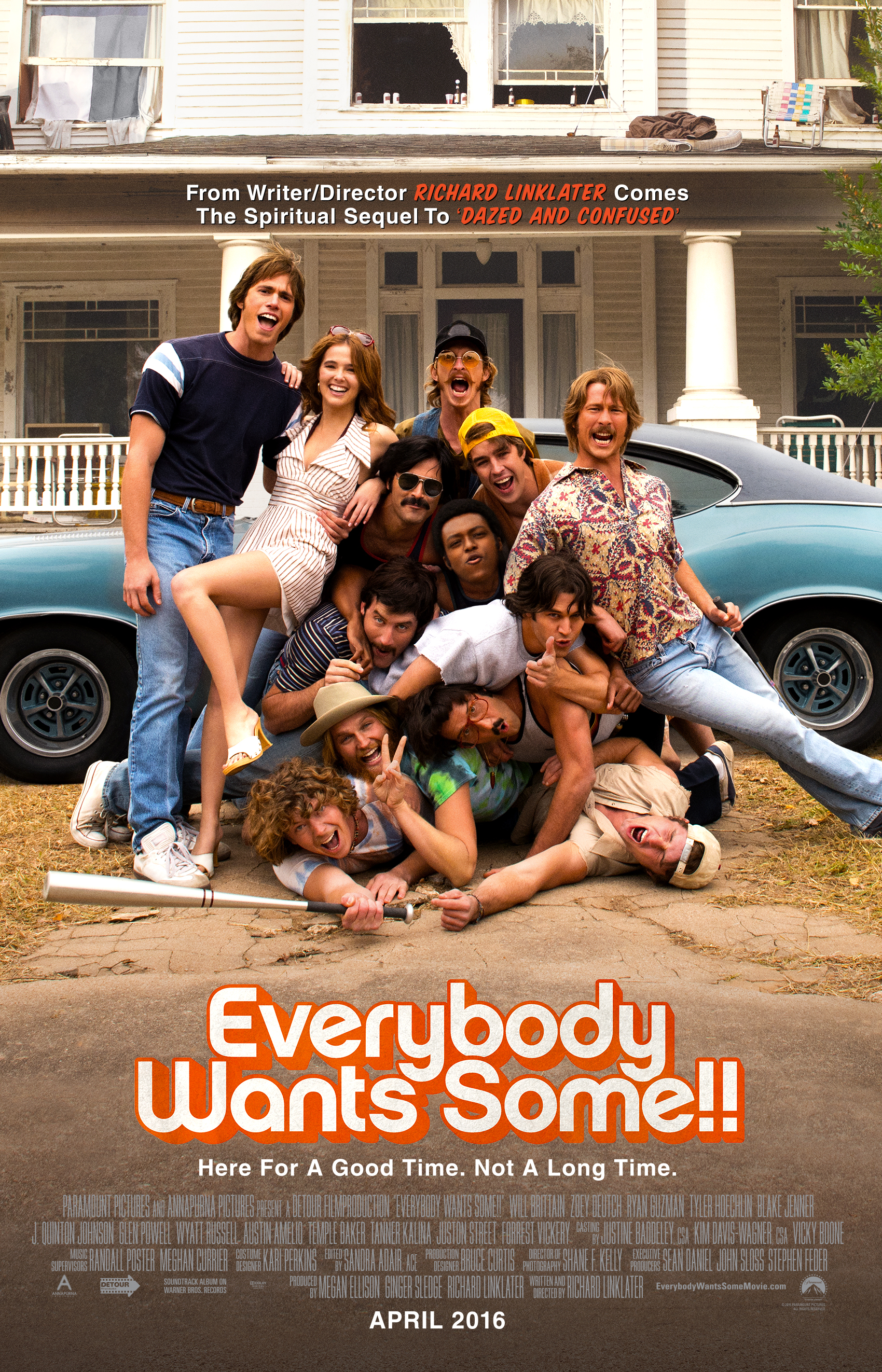 Image result for everybody wants some movie poster""