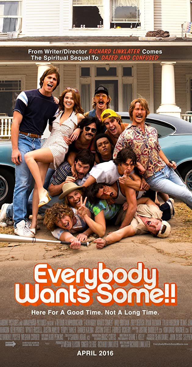 Subtitle of Everybody Wants Some!!