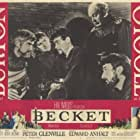 Peter O'Toole, Percy Herbert, Peter Jeffrey, and Niall MacGinnis in Becket (1964)
