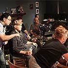 Alin Bijan directing Billy Zane.