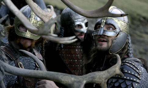 Gerard Butler and Tony Curran in Beowulf & Grendel (2005)