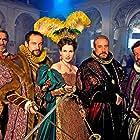 Julia Ormond, Jason Isaacs, Joaquim de Almeida, Fabio Testi, and Juanjo Puigcorbé in La conjura de El Escorial (2008)
