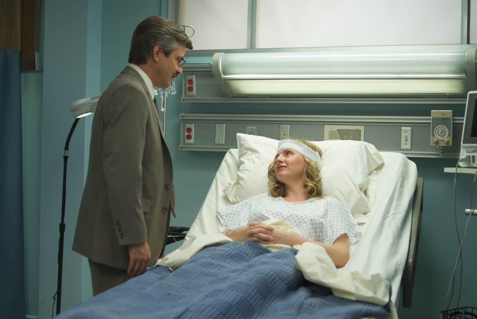 Dermot Mulroney and Hope Davis in The Family Tree (2011)
