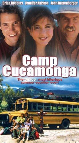 Jennifer Aniston, John Ratzenberger, and Brian Robbins in Camp Cucamonga (1990)