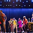 Kevin McHale, Melissa Benoist, and Jacob Artist in Glee (2009)