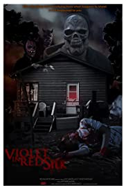Violet in Red Silk Poster