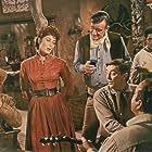 Robert Mitchum, John Wayne, Paul Fix, Charlene Holt, and Arthur Hunnicutt in El Dorado (1966)