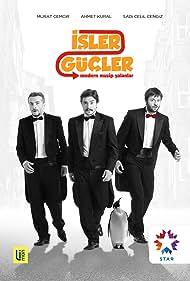 Murat Cemcir, Ahmet Kural, and Sadi Celil Cengiz in Isler Güçler (2012)